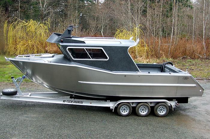 Custom built aluminum fishing boats all the best fish in for Best aluminum fishing boat